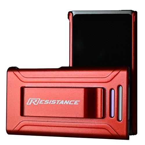 l, Widerstand, Schutzhülle mit Metallic-Finish und Integriertem Gürtel Clip für iPod Nano 7(7. Generation), Rot Metallic ()