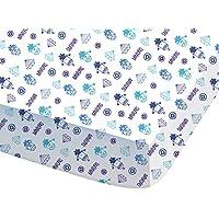 CTI - Sábana bajera 044682 «Minions Dance» de 90 x 190 cm. para niños fabricada en algodón azul