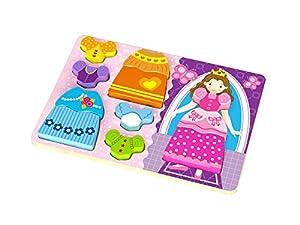 Tooky Toys TKC478 - Puzzle de Madera con diseño de Princesa