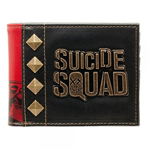 DC Comics Suicide Squad Harley Quinn Bifold Portafoglio