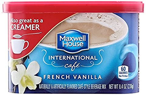 Maxwell House International Coffee French Vanilla - Instant Kaffee Vanille aus USA