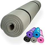 diMio Yogamatte / Pilatesmatte 185 x 60 cm, 5 Farben / 2 Stärken, rutschfest