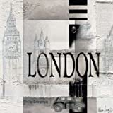London by Oudkerk, Marie-Louise - Fine Art Print on PAPER : 26.5 x 26.5 Inches