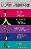 Lauren Weisberger 5-Book Collection: The Devil Wears Prada, Revenge Wears Prada, Everyone Worth Knowing, Chasing Harry Winston, Last Night at Chateau Marmont (English Edition)