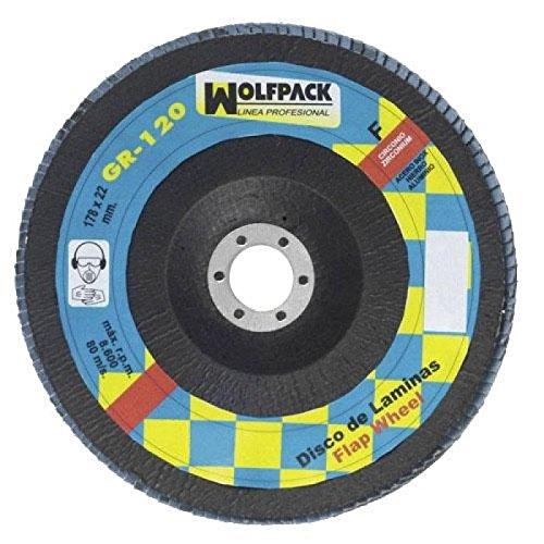WOLFPACK 9010850 DISCO LAMINAS WOLFPACK CIRCONIO 178X22 GRANO 60