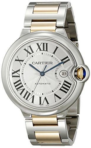 Cartier w69009z3–Montre de Poignet pour homme couleur argent