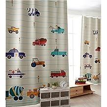 gwell kinderzimmer gardinen vorhang blickdicht osenschal dekoschal fur wohnzimmer schlafzimmer 1er pack 270x130cm hxb