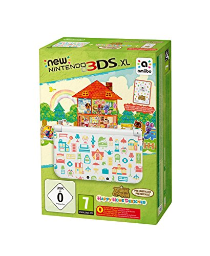 New Nintendo 3DS XL - Konsole (Special Edition) + Animal Crossing: Happy Home Designer  (vorinstalliert) (Animal Crossing 3ds)