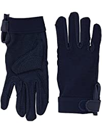 Cotton Pimple Horse Riding Gloves With Velcro Wrist Fastening, Sizes: Extra small - Extra Large