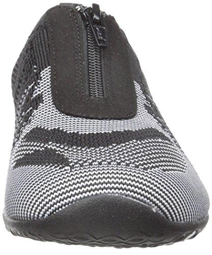 Skechers Damen Unity-Transcend Slip On Sneaker Black/White