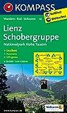 Lienz - Schobergruppe - Nationalpark Hohe Tauern: Wanderkarte mit Kurzführer, Panorama, Radrouten und Skitouren. GPS-genau. 1:50000 (KOMPASS-Wanderkarten, Band 48)