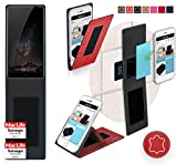 Cover for Nubia Z11 Max Case | in Red Leather |