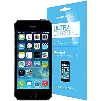 SPIGEN SGP New iPhone 5S / 5/ 5C Screen Protector Steinheil Ultra Crystal (SGP08196)