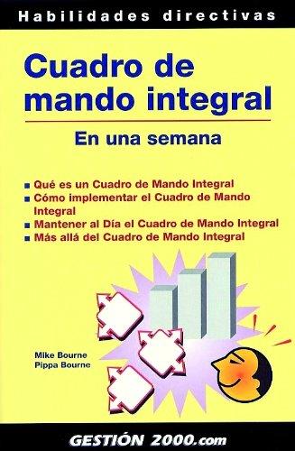 CUADRO DE MANDO INTEGRAL EN UNA SEMANA