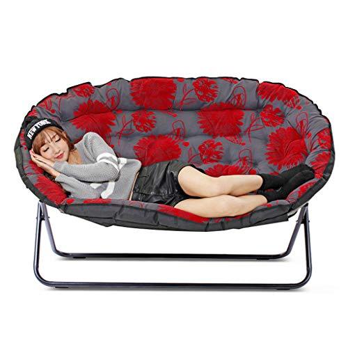 Lazy Couch Double Tatami Einfache Casual Schlafzimmer Wohnzimmer Kleine Wohnung Single Folding Fabric Kleine Schlafsofa weich und komfortabel (Farbe : A)