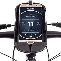 SMINNO CESAcruise, Freisprecheinrichtung & Universelle Smartphone Halterung fürs Fahrrad, Mountain Bike, Motorrad, Roller, E-Bike, Segway oder Kinderwagen