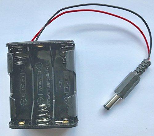 Generic 6-AA Batterien Halter Fall w/Netzstecker für Arduino Aa Fall