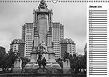 Madrid - Schwarz-Weiß Impressionen (Wandkalender 2019 DIN A3 quer): Kommen Sie mit auf eine Reise in die spanische Metropole Madrid (Geburtstagskalender, 14 Seiten ) (CALVENDO Orte) - Dirk Meutzner