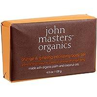 John Masters organics Arancia & Ginseng esfoliante corpo 128g