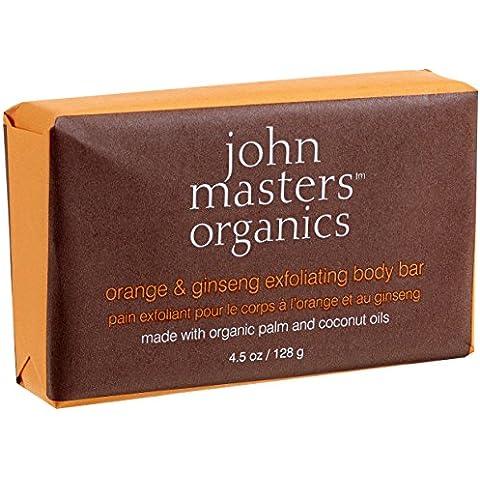 John Masters organics Orange & ginseng Exfoliating Body bar 128G