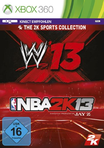 2K Sports Bundle (NBA 2K13 & WWE 13) - [Xbox 360]
