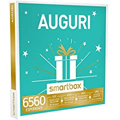 Idea Regalo - smartbox - Cofanetto Regalo - Auguri - 6560 esperienze tra soggiorni, attività di Gusto, Benessere o Svago