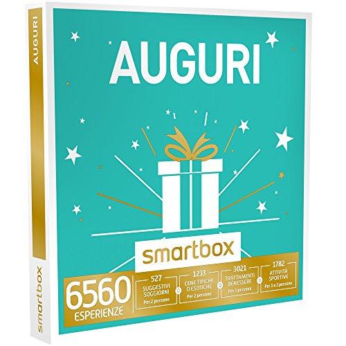 smartbox - Cofanetto Regalo - Auguri - 6560 esperienze tra soggiorni, attività di Gusto, Benessere o Svago
