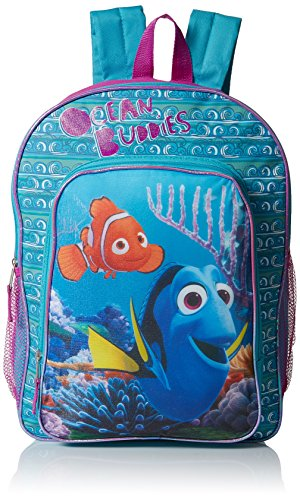 Disney Pixar Finding Dory Ocean Buddies Backpack with Detachable Lunch Box