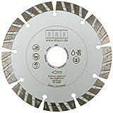 Turbo Diamant-Trennscheibe ø 125mm für Beton