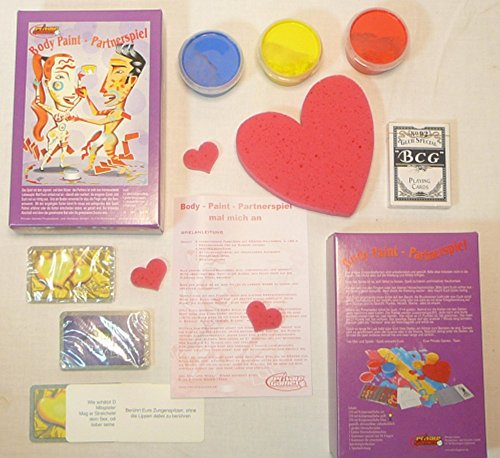 Private Games PRG06013 - Body-Paint Partnerspiel