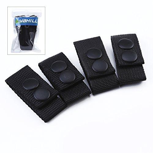 Yahill® Security Taktischer Gürtel Polizei Tactical Battle Belt Sicherheit Guertel Taktisch (Belt Keepers/ - Gürtelschlaufe