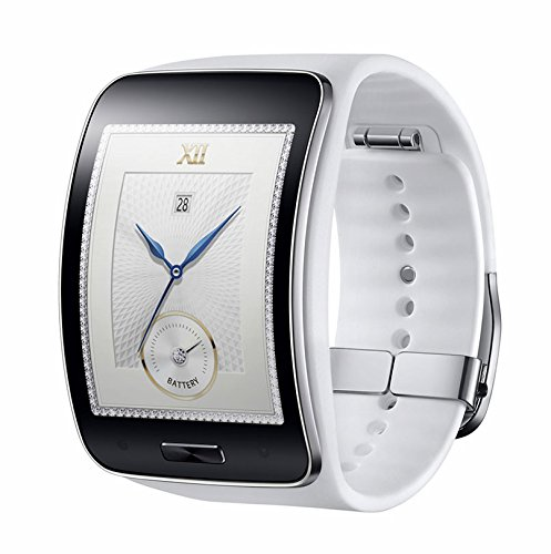 Samsung Gear S SM-R750 (S/K) Curved Super AMOLED Smart Watch (White)