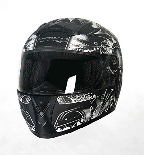 Integral Helm SH821 schwarz , grau Größe M