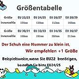 SITAILE Aquaschuhe Barfuß Schuhe Schwimmschuhe Badeschuhe Wasserschuhe Surfschuhe Sportschuhe für Kinder Kuh EU 28-29 - 7