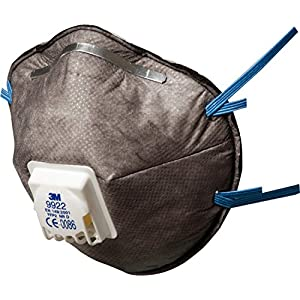 3M Speciality Disposable Respirator, FFP2, Valved, 9922