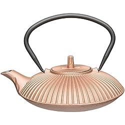 BergHOFF japanischen Gusseisen-Ei Teekanne, 700ml, Kupfer Gold
