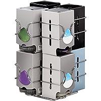 Hama Xavax 00111156 Distributeur de capsules à café Compatto Tassimo Argent 64 capsules
