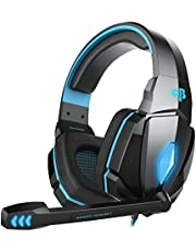Cosmic Byte Over the Ear Headsets with Mic & LED - G4000 Edition