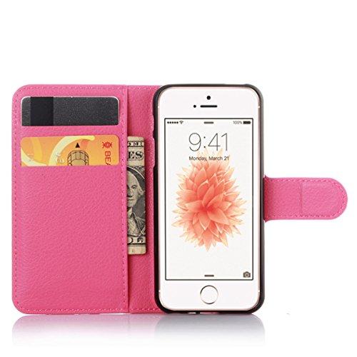 iPhone 6 Coque, iPhone 6s Coque, Lifeturt [ Rose diamant ] Livre cuir de qualité supérieure Wallet Case Cover pour iPhone 6 6s E02-31-L'amour papillon
