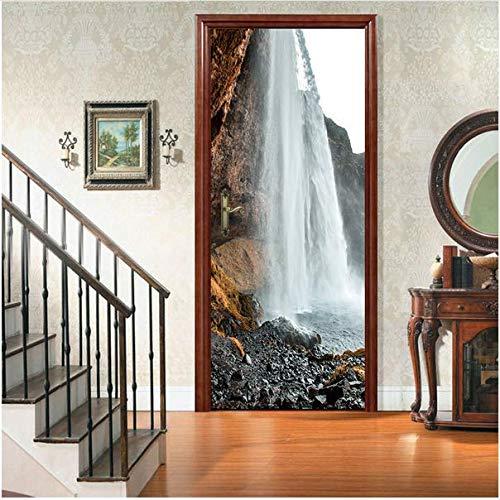 Newberli Szene Fällt Nach Hause Wohnzimmer Schlafzimmer Dekor Tür Fliesen Küche Kühlschrank Aufkleber Muralshipment Neueste