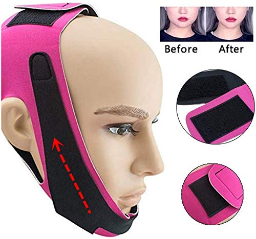Eranqo® Face Slimming Mask For double Chin for men and women V Line Facial Lift for slim cheeks V Line Belt Strap Mask