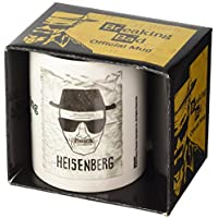 "Pyramid International ""Breaking Bad (Heisenberg Wanted)"" Official Boxed Ceramic Coffee/Tea Mug, Multi-Colour, 11 oz/315 ml"