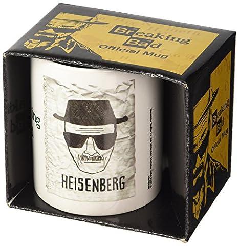 Breaking Bad 1-Piece Ceramic Heisenberg Wanted (Grande Cina Tazza Di Caffè)