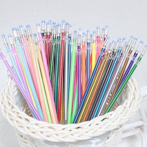 Aikesi 48 pezzi Penna Gel Classico Kawaii Penne Materiale scolastico Ufficio stazionario Penne Cancelleria della scuola Penne , Colore casuale