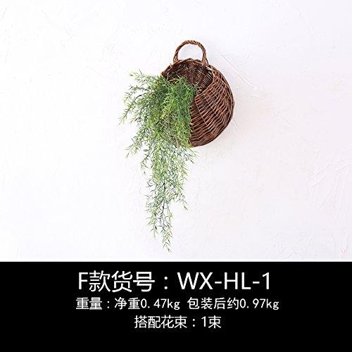 Un idilliaco emulazione parete fiore decorazioni creative parete boutique verde-sik, sez. F) Montaggio a parete