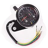 Orel_carparts Universal Motorrad DualTachometer Kilometerzaehler Tacho Speedometer Km