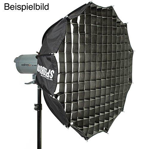 SMDV Honeycomb Grid 43 Grad Klett-Wabengitter (Wabenvorsatz, Wabeneinsatz) für Speedbox-A110 Studioblitz-Softbox