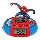 Spider-Man - Reloj despertador con hélice (Lexibook RL985SP)