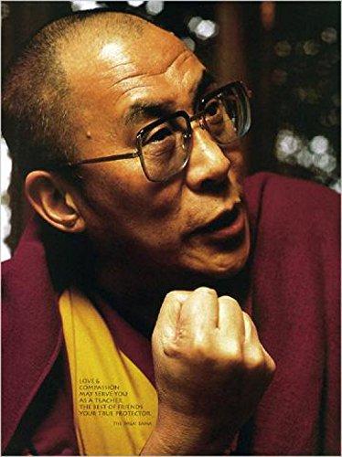 1art1 Dalai Lama - Portrait (1715) Poster Kunstdruck 70 x 48 cm