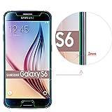 PLT24® 9H Hartglas / Panzerglas für Samsung Galaxy S6 / Displayschutzglas / Tempered Glass / Panzer Glas Display Schutz Folie / Schutzglas / Echte Glas / Verbundenglas / Glasfolie (bewusst kleiner als das Display, da es gewölbt ist) - 2